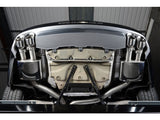 Milltek Cat Back Resonated Exhaust - 100mm GT Quad Tips - S6 4.0T quattro & S7 Sportback 4.0T S-tronic