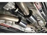 Milltek Cat Back Resonated Down pipes & Non Resonated Center Muffler - RS5