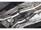 Milltek Cat Back Resonated Down pipes & Non Resonated Center Muffler - RS4 B8 4.2 FSI quattro Avant