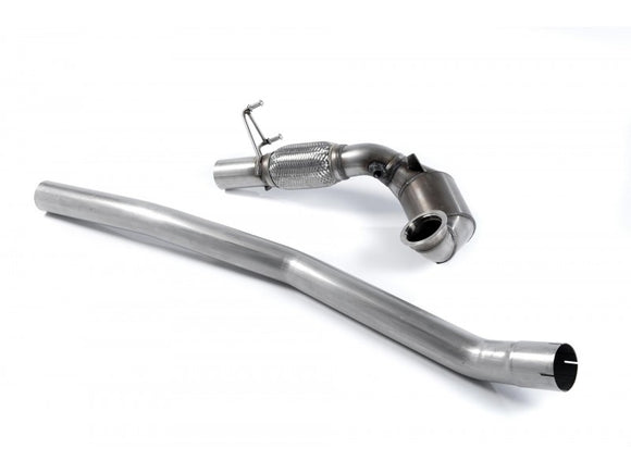 Milltek Large Bore Downpipe and High-Flow Cat - For Fitment with Milltek Exhaust system