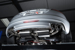 Milltek Non-Resonated Turbo Back Exhaust With Polished Silver Tips - Audi TTS Quattro Mk2