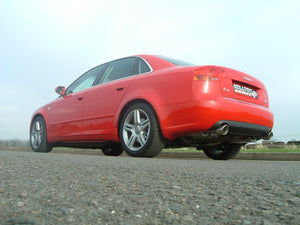 Milltek Cat Back Non-Resonated Exhaust With Dual GT100 Tips - Audi A4 2.0 TFSI B7 Quattro - Manual Only