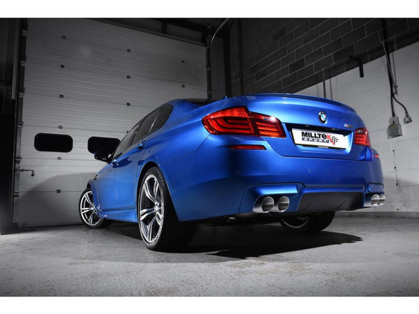 Milltek Cat-Back Exhaust With Titanium Tips - BMW F10 M5