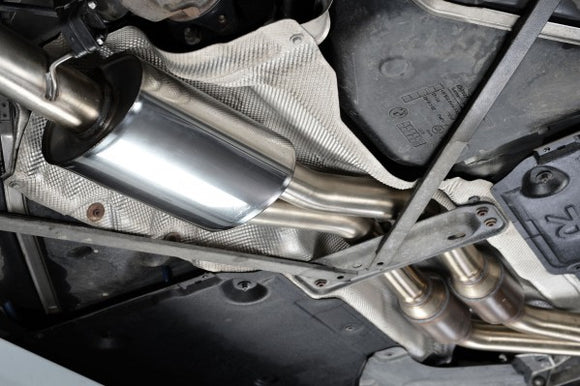 Milltek Primary Cat Back Exhaust - BMW 135i Coupe & Cabriolet N55
