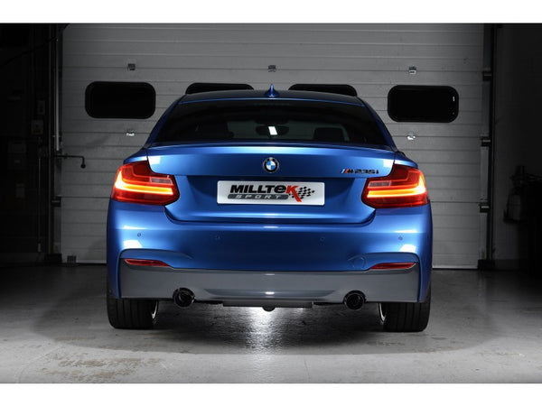 Milltek Cat-Back Exhaust Race System With Polished Tips - BMW M235i