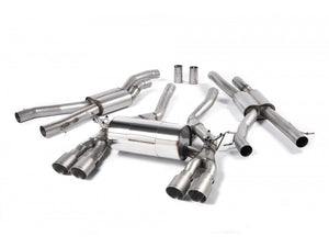 Milltek Cat Back Exhaust Race System With Titanium Tips - BMW M3 (F80) / M4 (F82)