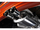 "Milltek Non Resonated 2.5"" Cat Back Exhaust - Twin 80mm GT Polished Tips - R56 & R58 Cooper S"