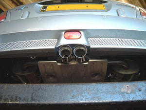 "Milltek Non Resonated 2.5"" Cat-Back Exhaust - Twin 76mm Special Polished Tips - R52"