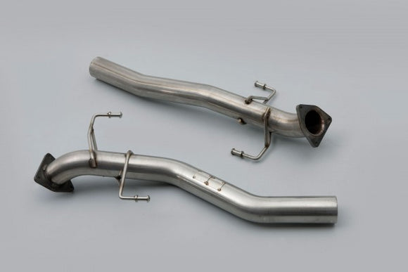 Milltek Secondary Catalyst Bypass Pipe - Must be fitted with Milltek cat-back system - Cayenne 955