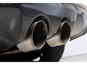 "Milltek 2.75"" Resonated Cat Back Exhaust - Titanium Tips - MK6 Golf R"