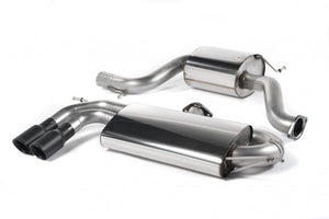 Milltek Resonated Cat-Back Exhaust With Cerakote Black Tips- VW Golf MK5 GTI 2.0T