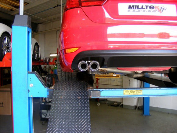 Milltek Turbo-Back Exhaust Including Hi-Flow Sports Cat - VW MK6 Jetta GLI 2.0T