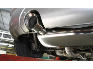 "Milltek Cat Back Non Resonated 3.0"" Exhaust - Polished GT100 Tips - MK1 TT 1.8T quattro"