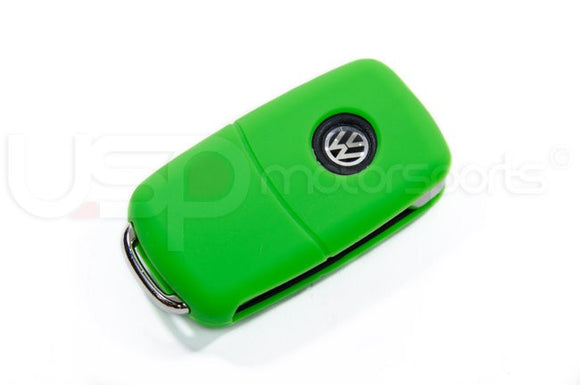 Silicone Key Fob Jelly (VW Models)- Green