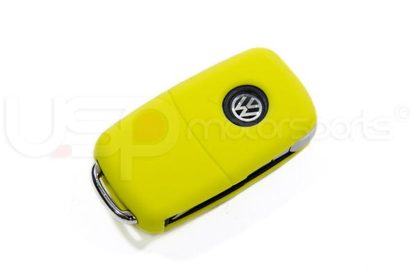 Silicone Key Fob Jelly (VW Models)- Yellow