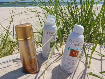 Our selection of sunscreen