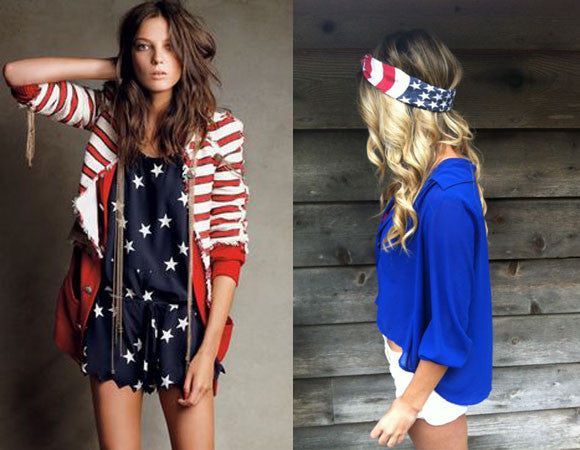 4th of July: Patriotic Chic
