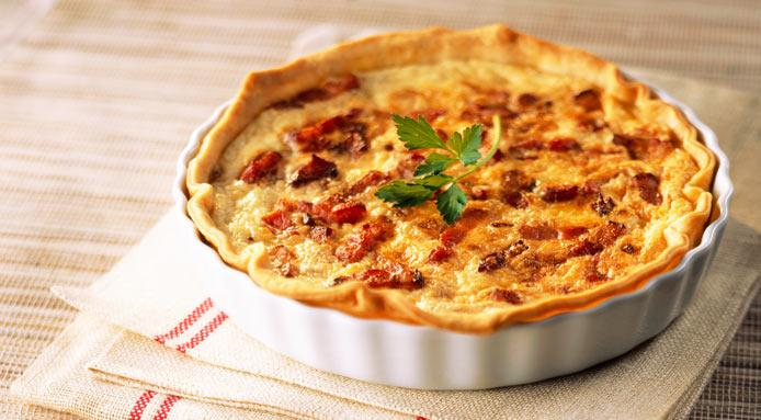 🇫🇷 How to make a real French quiche 🇫🇷