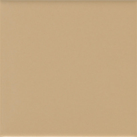 American Olean Matte 4-1/4 x 4-1/4 Cappuccino Wall Tile