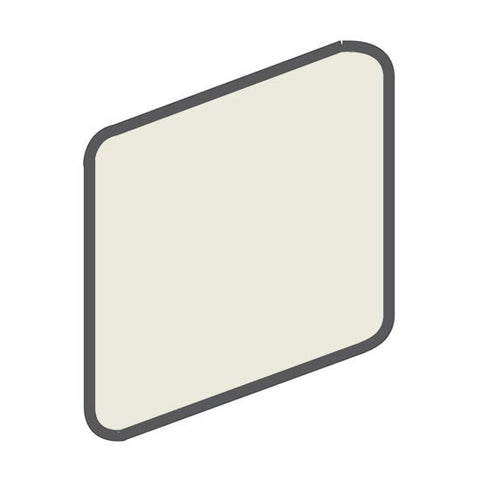 American Olean Bright 2 x 2 Gloss Almond Wall Surface Bullnose Outcorner - American Fast Floors