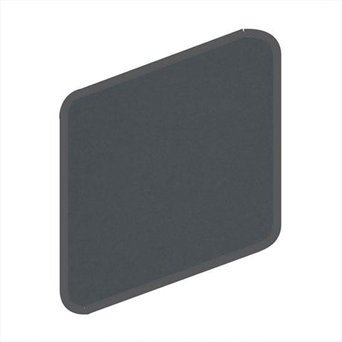 American Olean Matte 2 x 2 Smokey Quartz Wall Surface Bullnose Outcorner - American Fast Floors