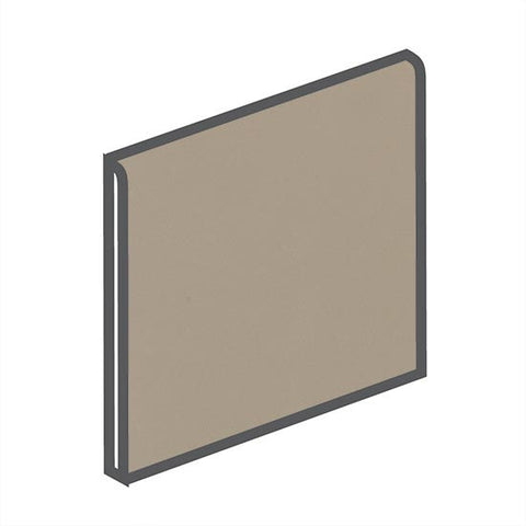 American Olean Bright 4-1/4 x 4-1/4 Mushroom Surface Bullnose - American Fast Floors