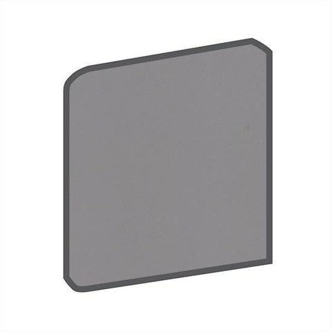 American Olean Bright 4-1/4 x 4-1/4 Storm Gray Surface Bullnose Outcorner - American Fast Floors
