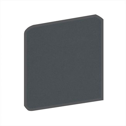 American Olean Bright 4-1/4 x 4-1/4 Smokey Quartz Surface Bullnose Outcorner - American Fast Floors