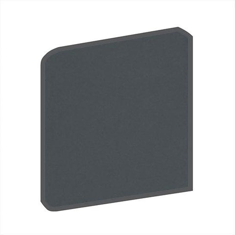 American Olean Bright 6 x 6 Smokey Quartz Surface Bullnose Corner