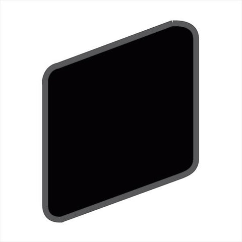 American Olean Bright 2 x 2 Gloss Black Wall Surface Bullnose Outcorner - American Fast Floors
