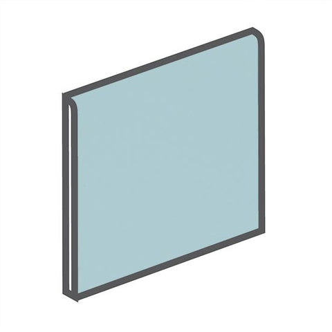 American Olean Matte 6 x 6 Glacier Surface Bullnose - American Fast Floors