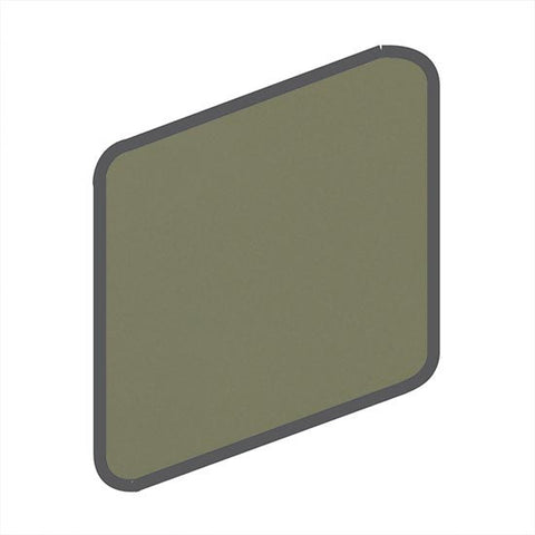 American Olean Bright 2 x 2 Artichoke Wall Surface Bullnose Outcorner - American Fast Floors