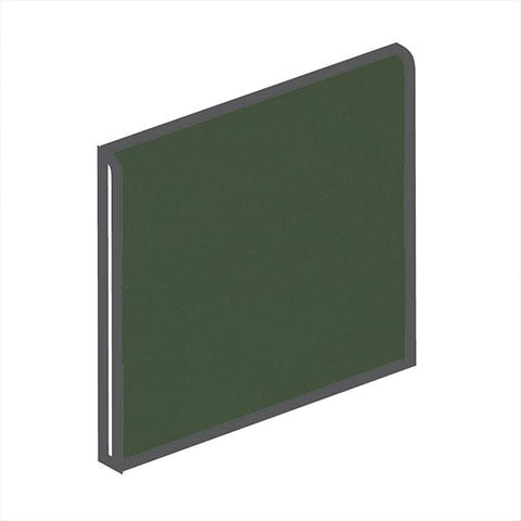 American Olean Matte 6 x 6 Dill Pickle Surface Bullnose