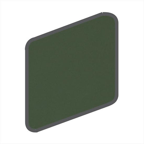 American Olean Matte 2 x 2 Dill Pickle Wall Surface Bullnose Outcorner