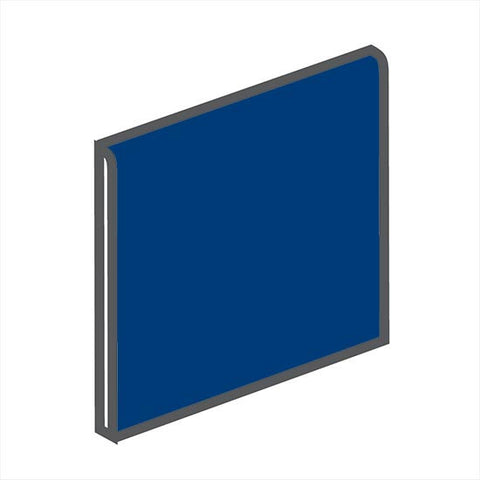 American Olean Bright 4-1/4 x 4-1/4 Sapphire Sky Surface Bullnose - American Fast Floors