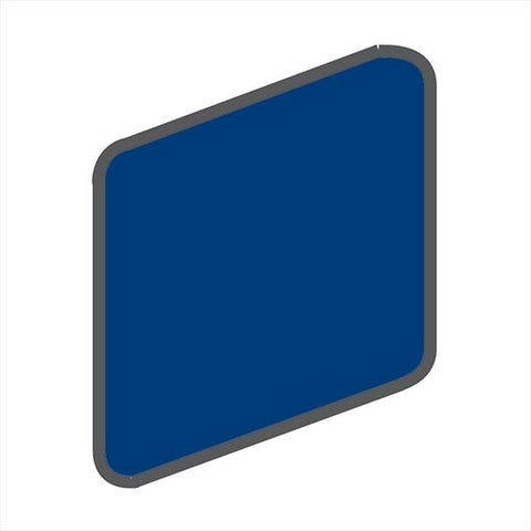 American Olean Bright 2 x 2 Sapphire Sky Wall Surface Bullnose Outcorner
