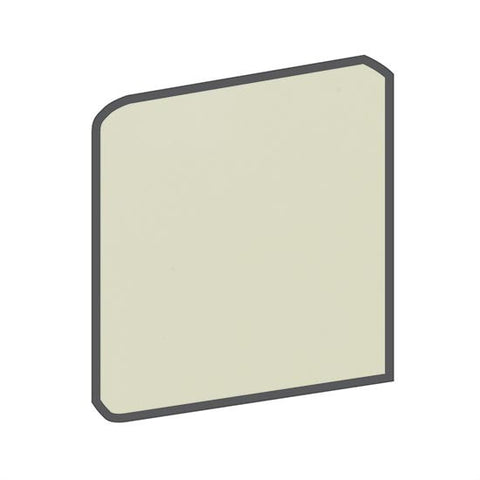 American Olean Bright 4-1/4 x 4-1/4 Spearmint Surface Bullnose Outcorner - American Fast Floors