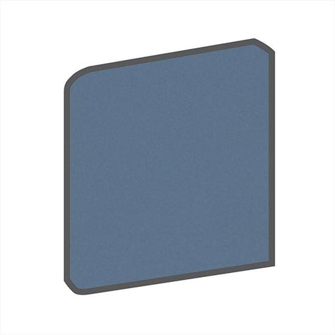 American Olean Bright 4-1/4 x 4-1/4 Summer Rain Surface Bullnose Outcorner - American Fast Floors