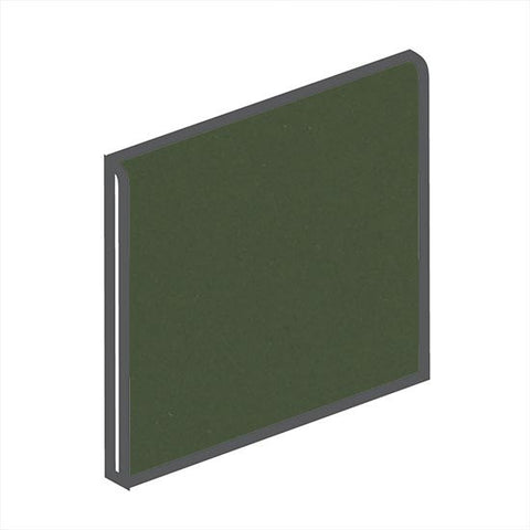 American Olean Bright 4-1/4 x 4-1/4 Dill Pickle Surface Bullnose
