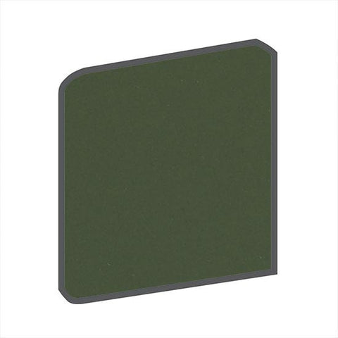 American Olean Bright 6 x 6 Dill Pickle Surface Bullnose Corner - American Fast Floors