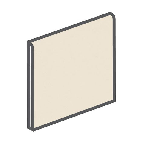 American Olean Matte 6 x 6 Almond Surface Bullnose