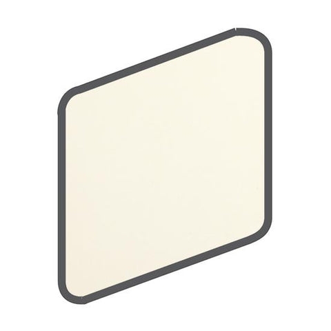 American Olean Bright 2 x 2 Biscuit Wall Surface Bullnose Outcorner