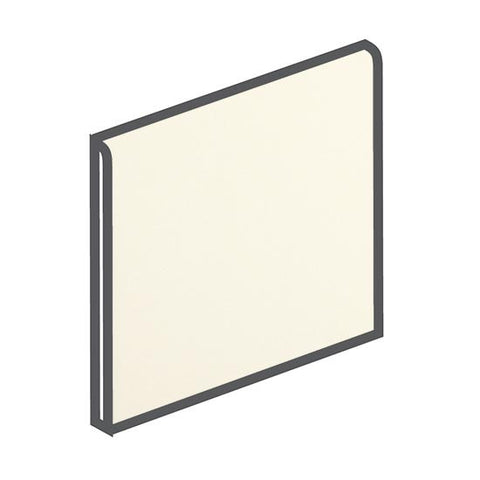 American Olean Matte 6 x 6 Biscuit Surface Bullnose