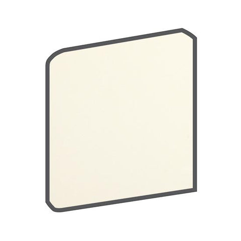 American Olean Matte 4-1/4 x 4-1/4 Biscuit Surface Bullnose Outcorner
