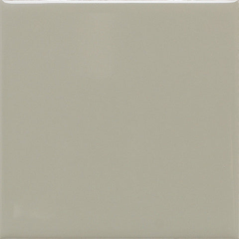 Daltile Modern Dimensions 4-1/4 x 12-3/4 Gloss Architectural Gray Field Tile