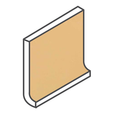 Daltile Modern Dimensions 4-1/4 x 12-3/4 Luminary Gold Flat Top Cove Base