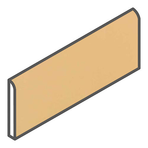 "Daltile Modern Dimensions 2-1/8 x 8-1/2 Luminary Gold Bullnose - 8-1/2"" Side"