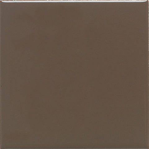 Daltile Modern Dimensions 4-1/4 x 8-1/2 Gloss Artisan Brown Field Tile