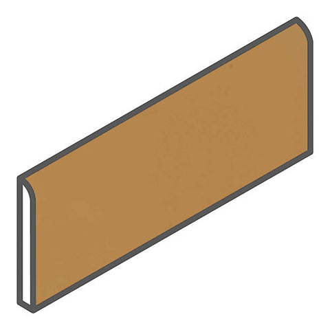 "Daltile Modern Dimensions 2-1/8 x 8-1/2 Gold Coast Bullnose - 8-1/2"" Side"