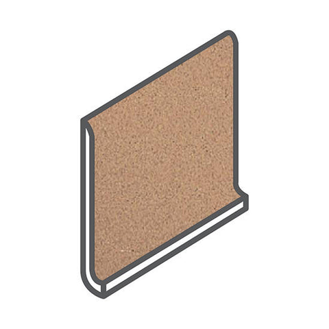 American Olean Quarry Naturals 5 x 6 Desert Cove Base Round Top - American Fast Floors